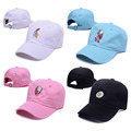 Funny Embroidery Banana Strawberry Egg Unisex Adjustable Baseball Cap Pink Color Harajuku Dad Hat Outdoor Golf Hats For Men 370