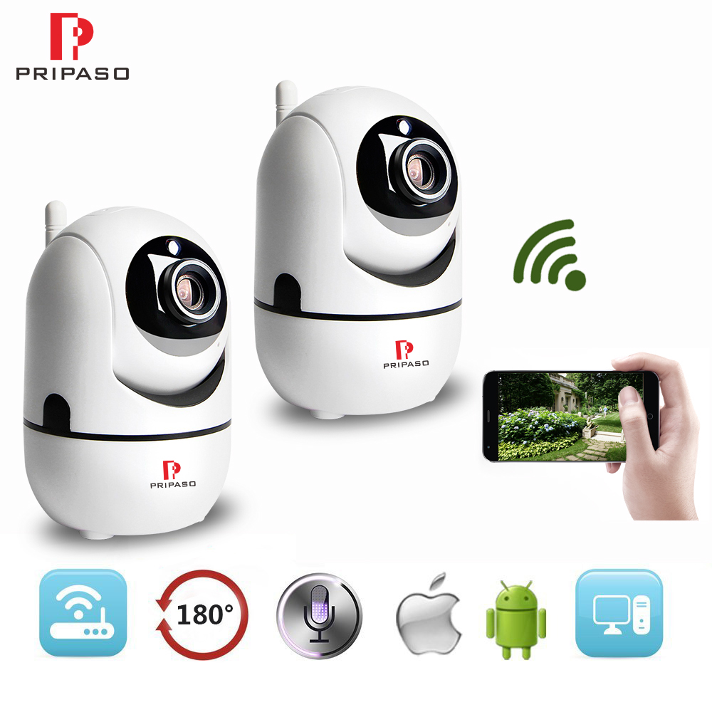 2 Pack HD 1080P IP Camera Wireless Home Security 2.0MP Mini Camera Baby Monitor CCTV Video Surveillance WIFI indoor Camera