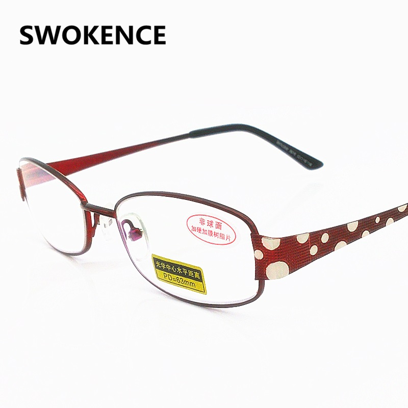 Fashion Brand Designer Women Elegant Slim Aspheric Hard <font><b>Resin</b></font> Lenses Reading <font><b>Glasses</b></font> <font><b>High</b></font> <font><b>Grade</b></font> Presbyopia Eyeglasses G417