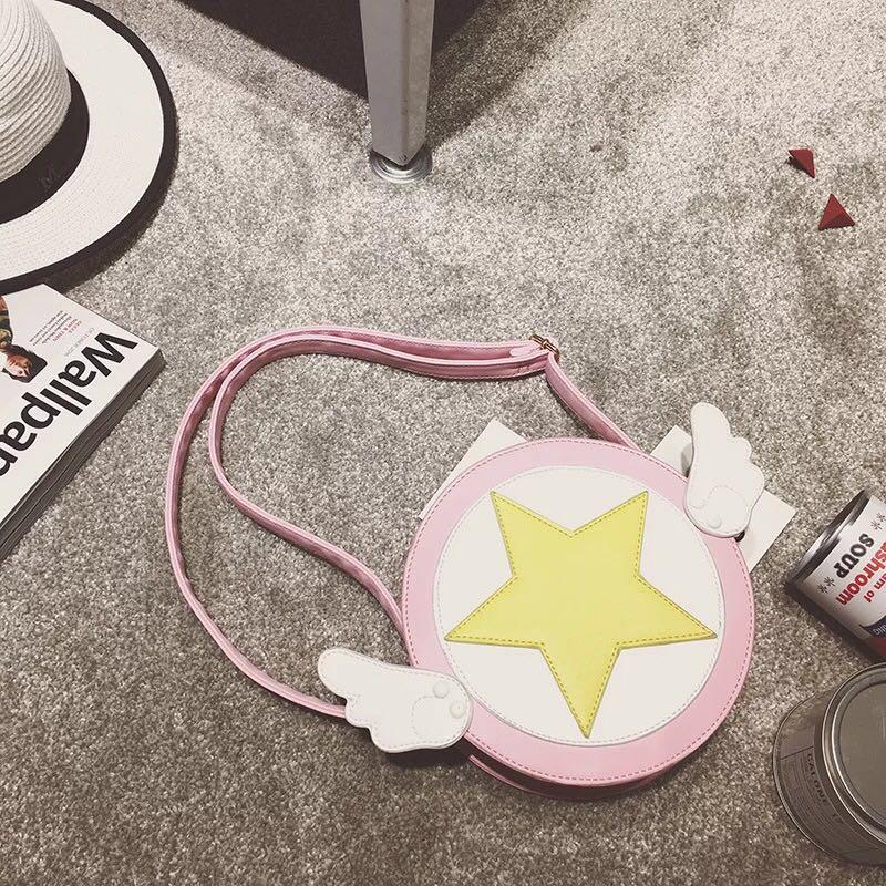 Nuova Dolce Sakura Libero Della Tracolla Captor Borsa Anime Moneta Di White La Moda 2017 Bella Card Trasporto A w54xOppq