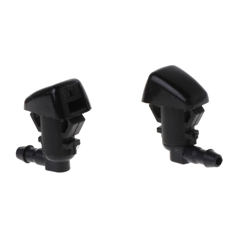 2PCS Front Windshield Washer Nozzles For Jeep Liberty 08 12 For Jeep Commander For 06 10 Dodge Nitro 07 11 55157319AA 4806312AA in Windscreen Wiper Blow Can Strainer from Automobiles Motorcycles