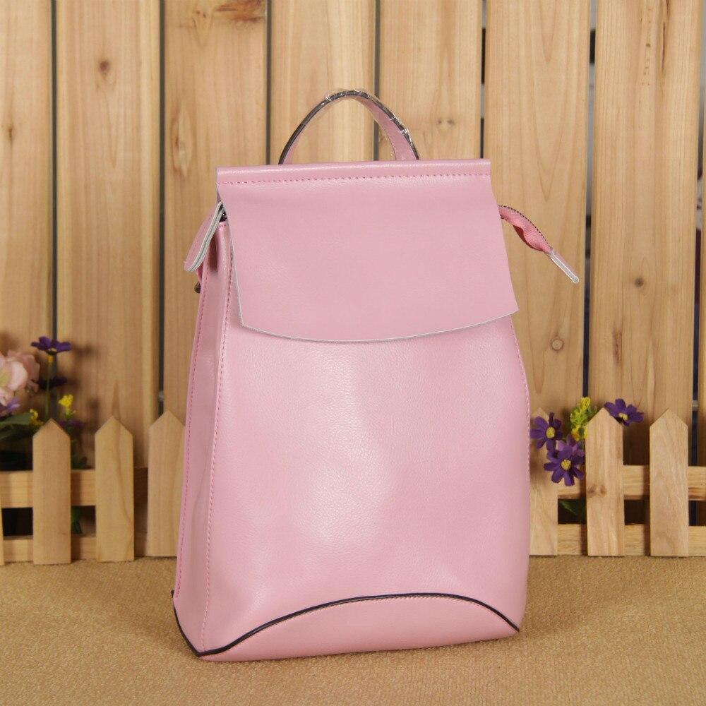 ФОТО Daily Genuine Leather rucksacks Packsack Road students bag Knapsack Riding bag pack bags Backpack School Shoulder Bag Mochila