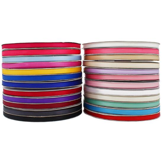 <font><b>91</b></font> meter/lot 0.6cm wide Grosgrain Ribbon gift wrap decoration Christmas party wedding ribbons diy Bow Manual ribbon image