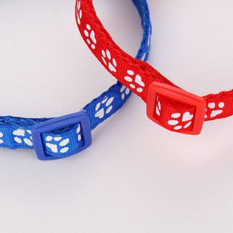 Горячая Милая Собака Pet глянцевый Светоотражающий ошейник безопасности Пряжка ремешок с колокольчиком 12 цветов регулируемый ремень