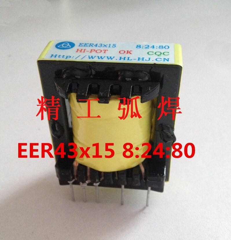 EER43x15 8:24:80 Inverter Rectifier Arc Welding Machine Transformer Welder Transformer Argon Arc Welding High Frequency Plate