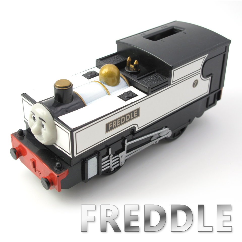 Electric Thomas Train T052E FEARLESS FREDDLE Thomas And Friends Trackmaster Magnetic Tomas Truck Engine Railway Toys for Boys