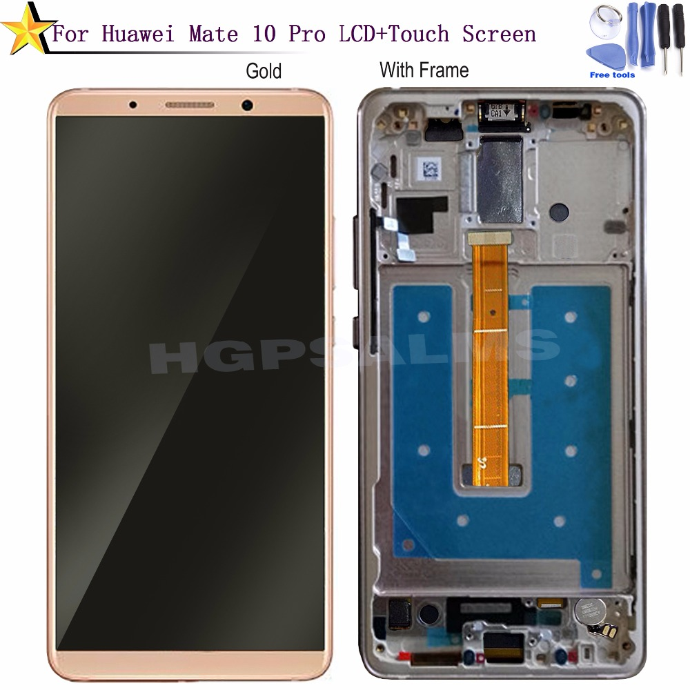 HW086 For Huawei Mate 10 Pro LCD Display Touch Screen Digitizer Assembly With Frame Replacement For 6.0 Inch Huawei Mate 10 Pro (1)
