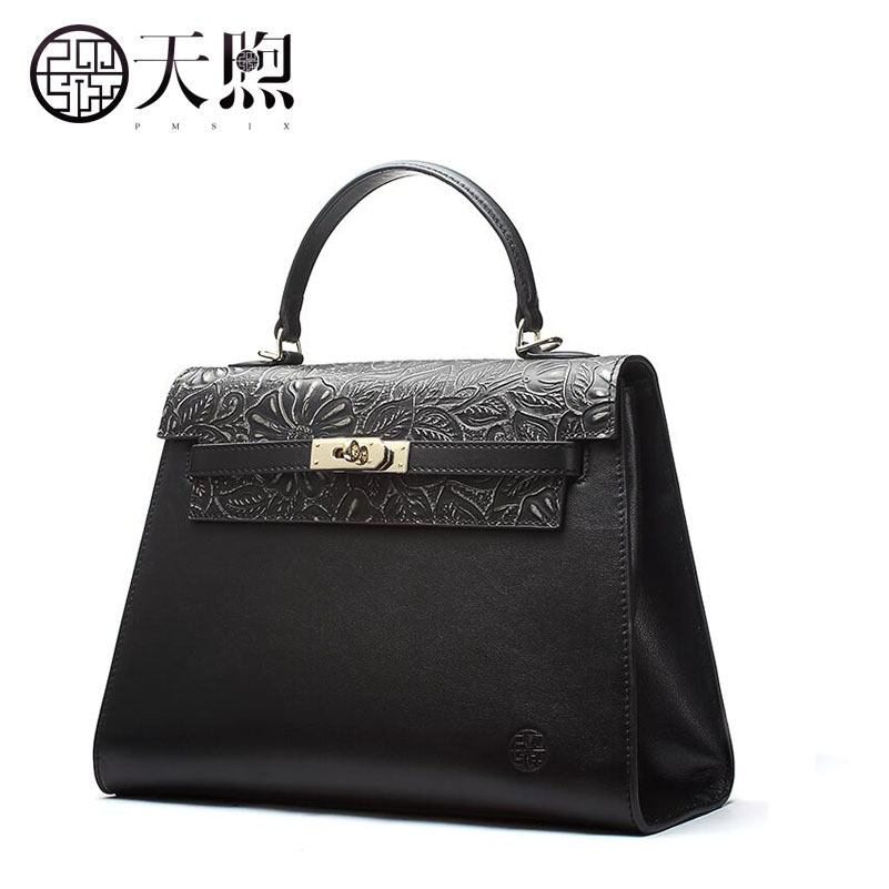 New women genuine leather bags fashion Retro Embossed Flowers luxury handbags designer women bag tote handbags Crossbody bags new women leather bags fashion embroider flowers luxury tote handbags designer women bag leather handbags crossbody bags
