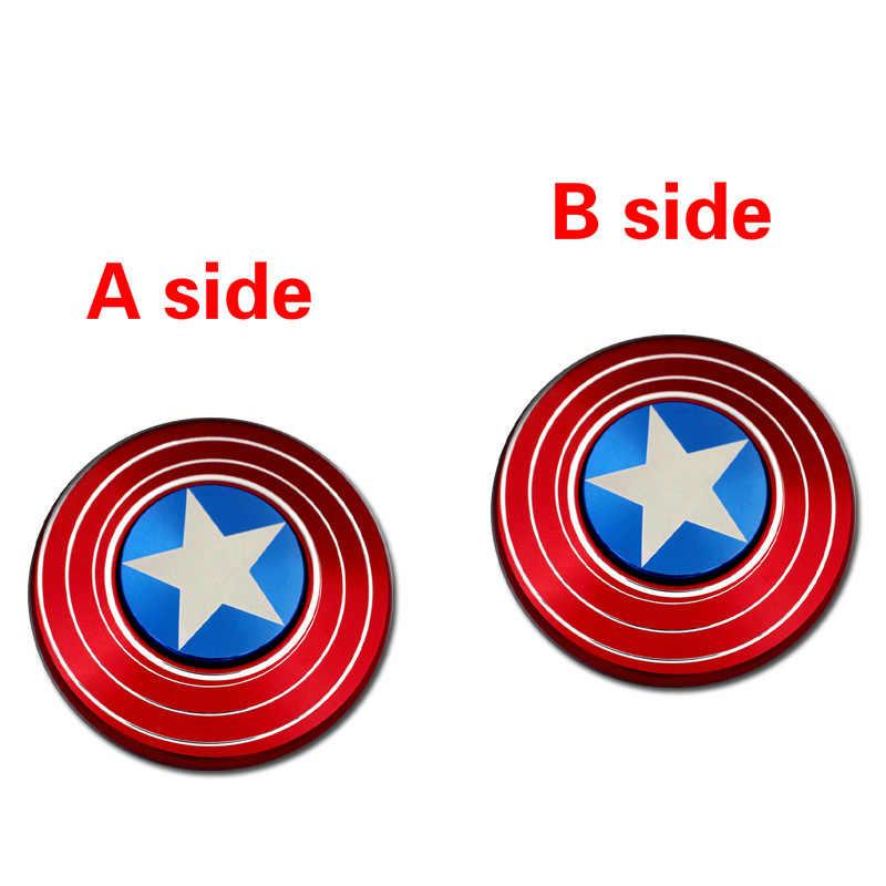 2017 R188 капитан Американский Спиннер игрушка Спиннер ручной палец EDC игрушка металлическая антистресс рождественские игрушки для детей
