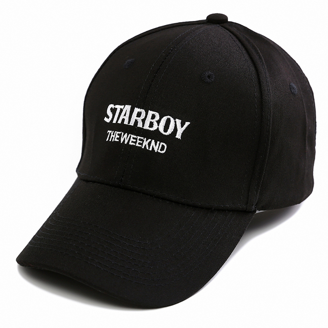 85395d6257b The Weeknd Starboy Hats Brand 100% Cotton Caps XO Dad Hat Embroidery  Baseball Caps Snapback