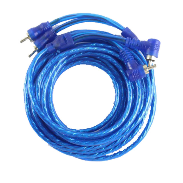 Cheap AMP Wiring Fuse Holder Wire Cable Kit FM Cable amplifier subwoofer Car Audio Subwoofer Amplifier 5 m