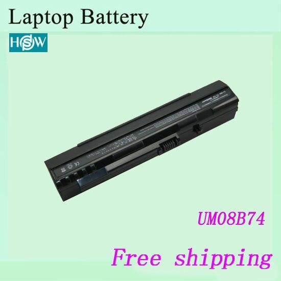 High Quality Laptop Battery For Acer Aspire One Zg5 A110 A150 Um08a31 Um08a71 Um08a72 Um08a73