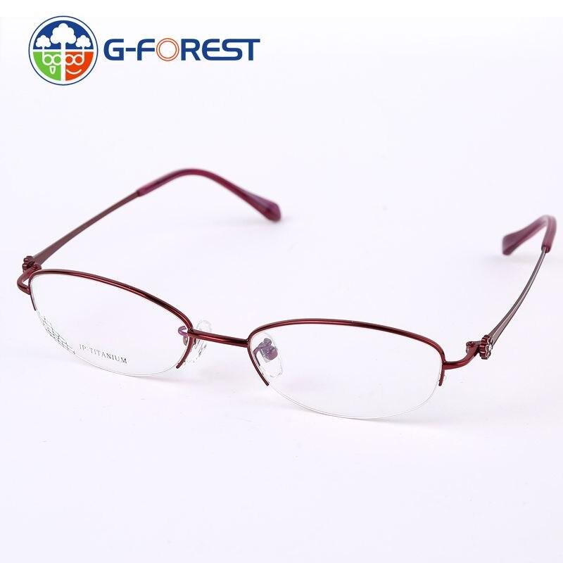 Calidad Superior ojo Gafas Titanium óptica Gafas Marcos para las ...