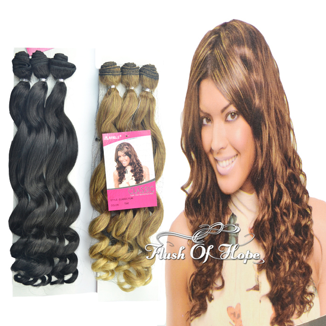 6packslot 18 Noble Classic Fumi Curl Heat Resistant Synthetic Hair