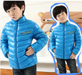 Children ultra light waterproof down jacket Baby Girls and boys outerwear fashion coat, Kids clothing winter infant warm coat