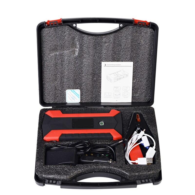 89800 mAh 12 V LCD 4 USB voiture saut démarreur Pack Booster chargeur batterie externe