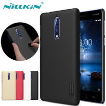 Nillkin for Nokia 8 Case NILKIN Super Frosted Shield Hard Plastic PC Phone Back Cover Cases for Nokia 8 Gift Screen Protector