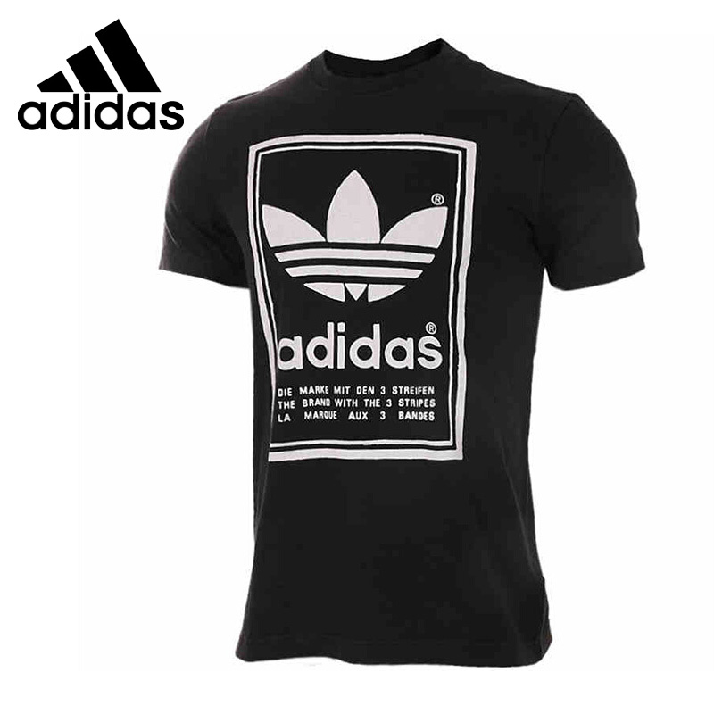 Original New Arrival  Adidas Originals  Archive Men's T-shirts short sleeve Sportswear