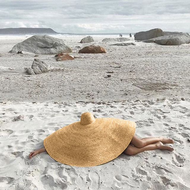 brixini.com - Super Wide Summer Beach Straw Hat