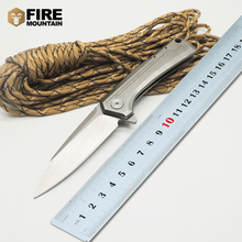 BMT 0808 Tactical Folding Blade Knife D2 Blade Steel Handle Ball Bearing Pocket Outdoor Camping Survival Knives Outdoor EDC Tool