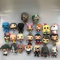 Funko pop Bob der Burger, Flash, Predator, Joyce, Ein schlag Mann, Logan, hanna Jerry, Spiel Dragon, Superman Vinyl Abbildung Lose Spielzeug