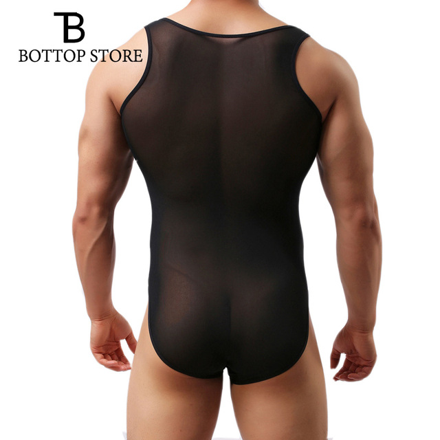 3pic/lot Sexy Hot Male Underwear Shapers Men Leotard Bodysuits Man Tight Body Suits Gay Singlet Elastic Bodystocking Lingerie