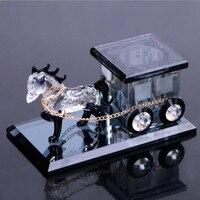 Automotive crystal carriage creative decoration perfume for SAAB 9 3 9 5 93 95 MG GT MG3 MG5 MG6 MG7 MG3SW MGTF Car Accessories