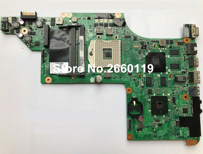 laptop motherboard for HP 630279-001 DA0LX6MB6H1 system mainboard, fully tested laptop motherboard for hp 679814 001 15 3000 system mainboard fully tested and working well