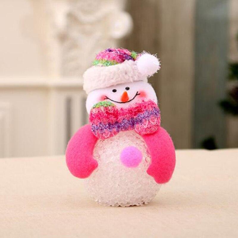 Colorful Christmas glowing doll Glowing LuminousTree