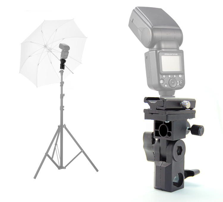 2m Light Stand Flash Soft White Umbrella Flash Shoe Umbrella Holder Swivel  Light Stand Tripod Bracket Type B Universal Mount In Photo Studio  Accessories ...