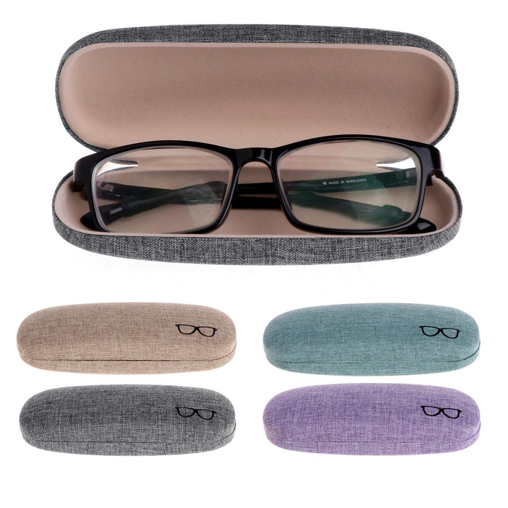 4 Farben 1 Stück Verfügbar Harte Gläser Fall Protable Gläser Fall Metall Brillen Sonnenbrille Protector Hard Box Brillen Zubehör