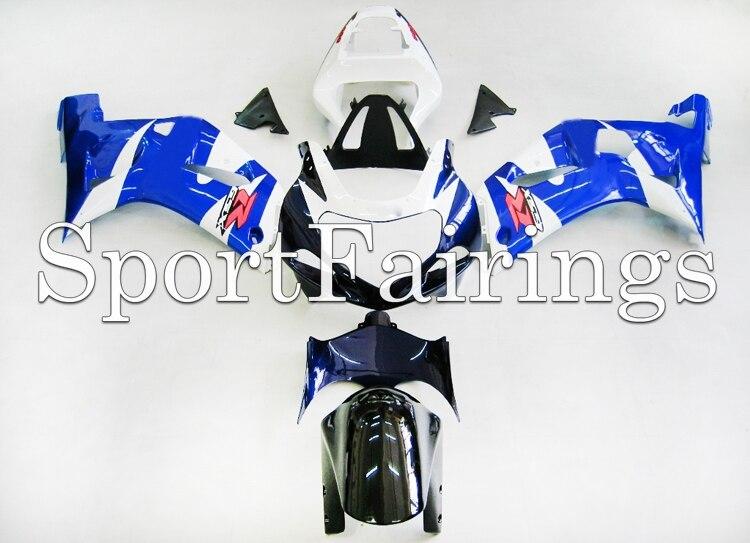 Обтекатели для Suzuki GSXR1000 K1 K2 00-02 2000 2001 2002 впрыскивание, АБС-пластик мотоцикл обтекатель с комплектом кузова синий черный, белый цвет