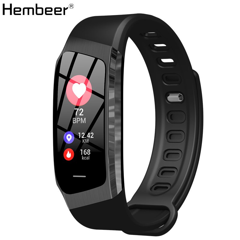 $26.99 Hembeer Fitness Bracelet Smart Band Blood Pressure Watches Heart Rate Monitor Fashion Design for Men Women for xiaomi iphone