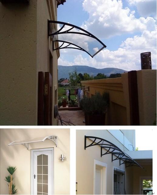 YP100360 100x360 cm suporte de policarbonato plástico de engenharia 39x140in pátio cobre, revestimentos de janela da copa, porta toldo