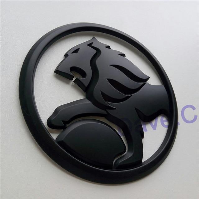 For Hsv Car Lion 130mm Matt Black Front Grille Grill Bonnet Custom