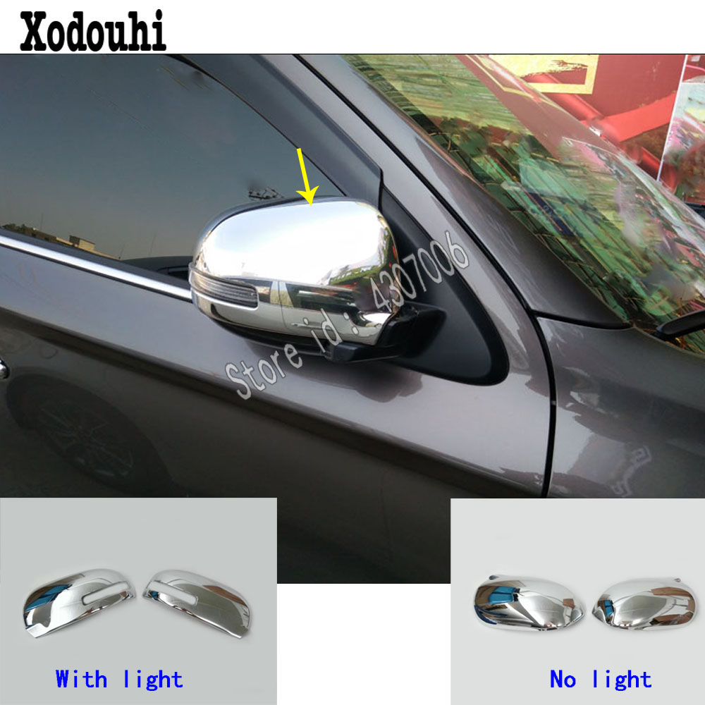 Rearview Door Handle Cover Side Mirror trim for 2013-2018 Mitsubishi Outlander A