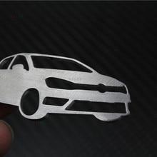 Брелок из нержавеющей стали подходит для VW Golf брелок сумка Подвеска