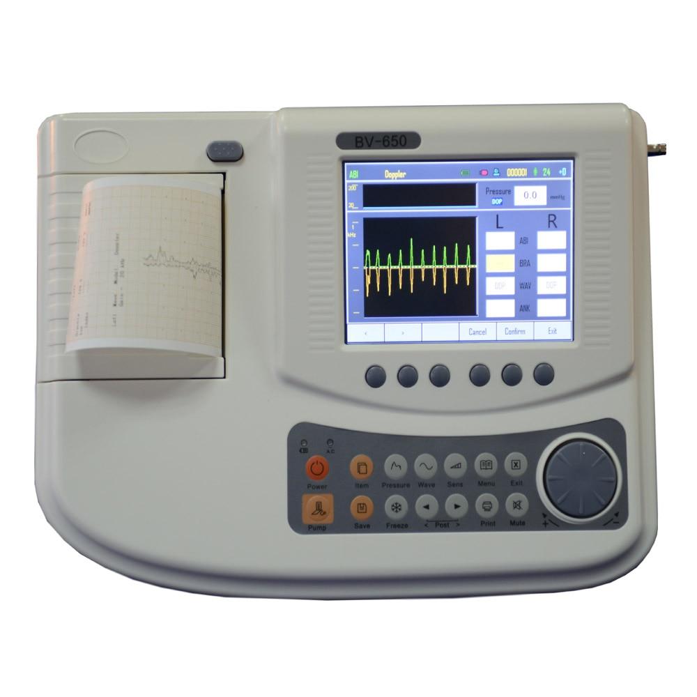 ABI vasküler doppler PED doppler sistemi 5.7 '' renkli LCD çift - Sağlık Hizmeti - Fotoğraf 2