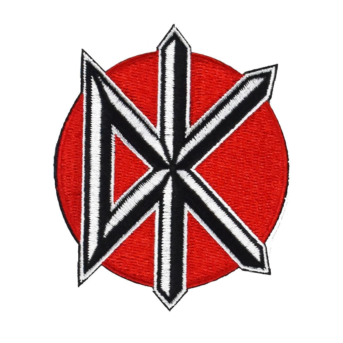 Ölü Kennedys DK müzik yama kaya bant punk LOGO işlemeli yeni demir ve yama üzerinde dikmek ağır Metal giyim aksesuarları
