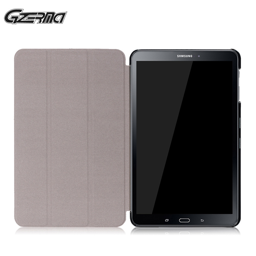 For Samsung Galaxy TAB A 10 1 P580 With S Pen Magnetic Flip Protective Shell Stand Cover Case Smart Tablet Cases Cover Film in Tablets e Books Case from Computer Office
