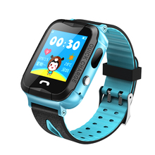 V6G Kids GPS Tracking Watch Baby Waterproof Smartwatch SOS Call Location Anti-lost Monitor 1.44 Inch Color Screen Sport Bracelet