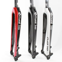 New 3 Color QILEFU 26 29 Inch Mountain Bike Full Carbon Fibre Bicycle Hard Front Fork