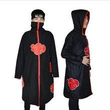 Halloween Men Women cosplay Anime Akatsuki /Uchiha Itachi Cosplay Party Costume Cloak Cape