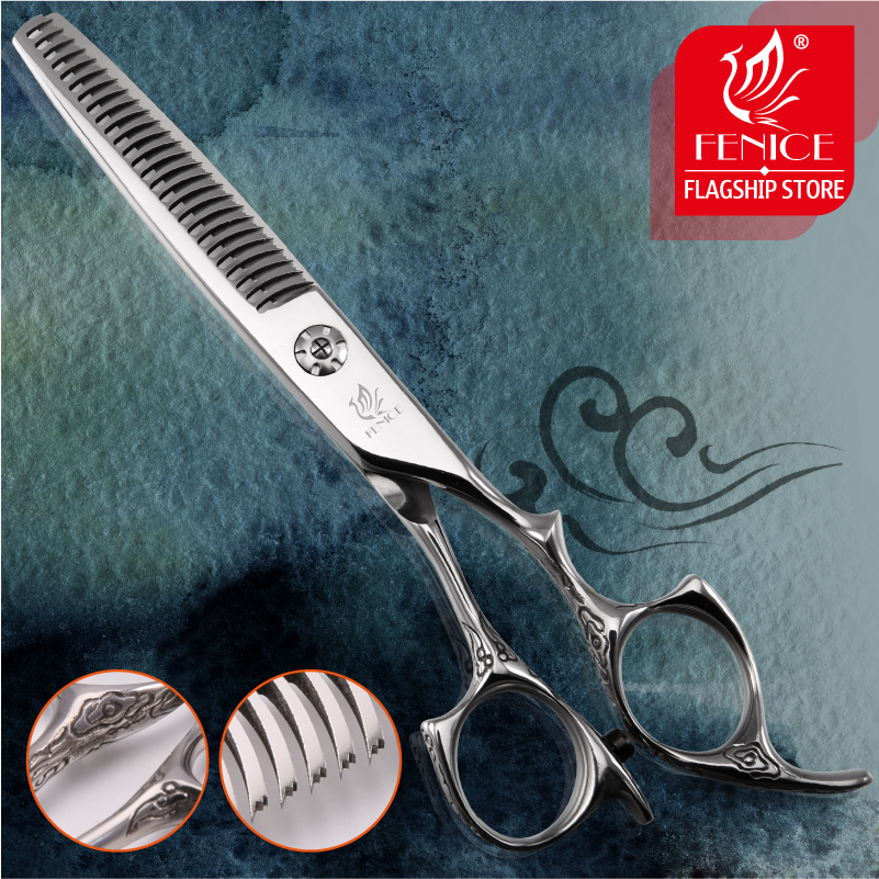 Professional salon barber use 6 inch 26 teeth beauty hair thinning scissors