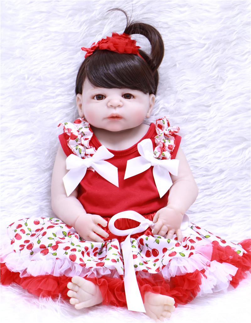55cm silicone reborn dolls for girls toys can enter water children dolls gift bebe real reborn menino bonecas55cm silicone reborn dolls for girls toys can enter water children dolls gift bebe real reborn menino bonecas