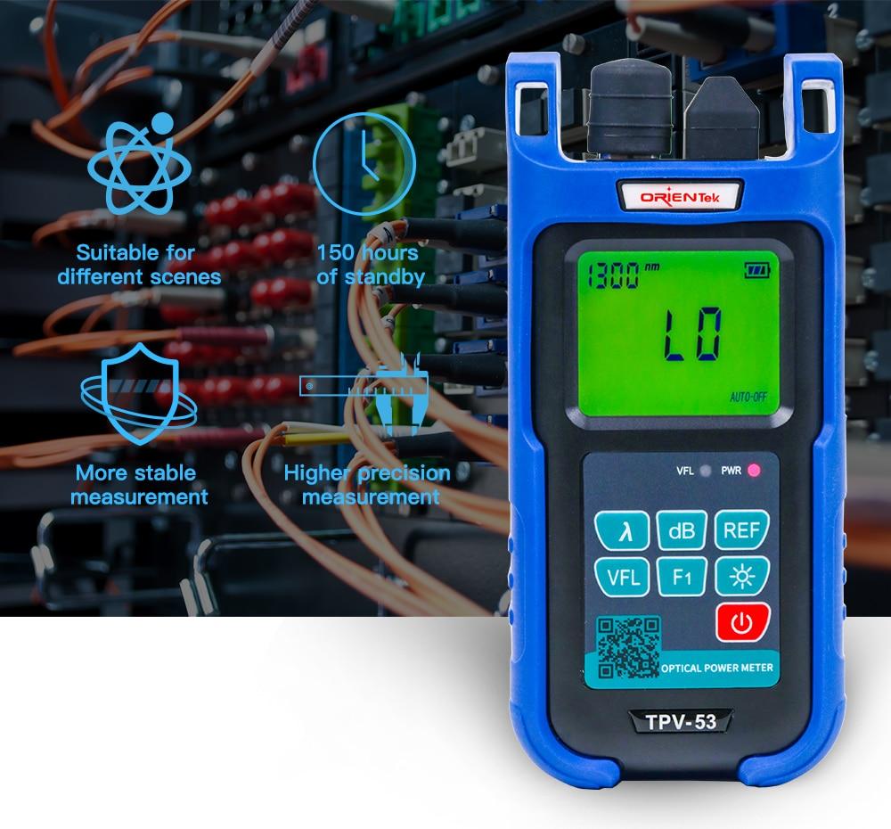 Orientek TPV-53 Optical Power Meter OPM /& Visual Light Source VFL