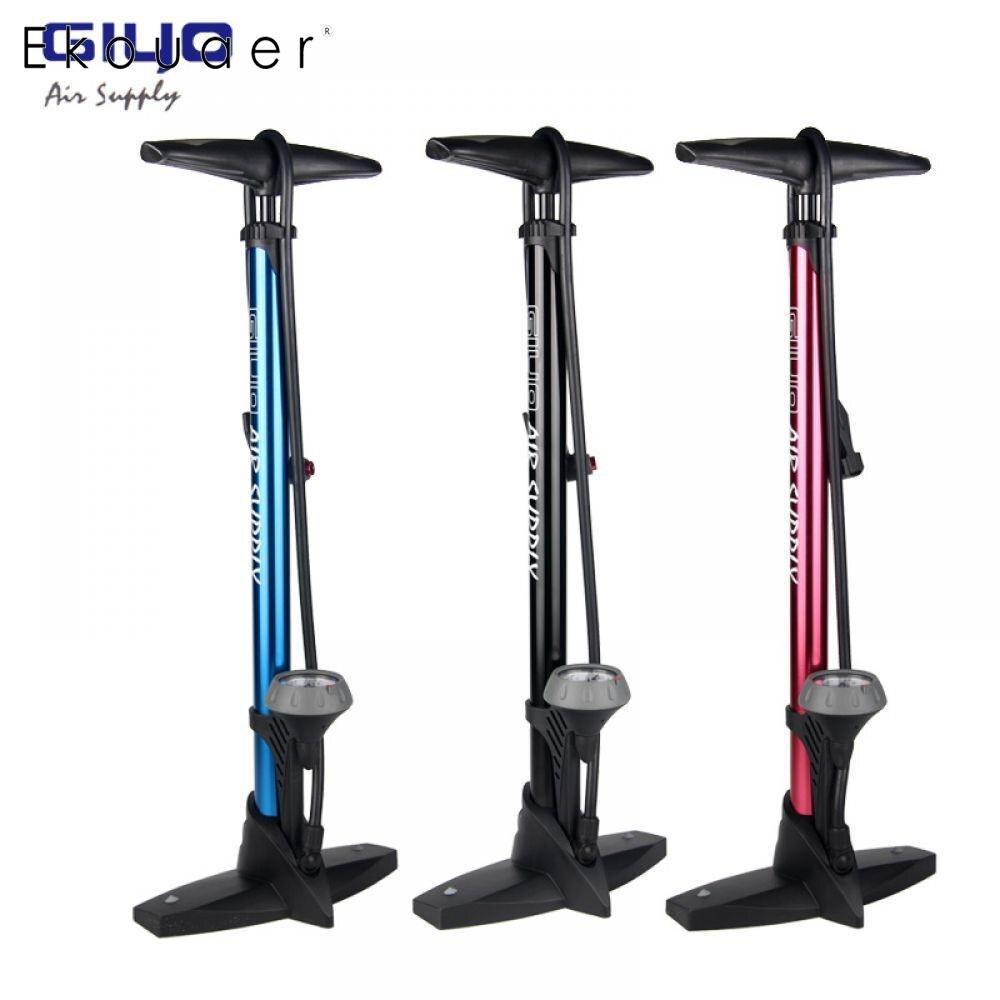 Pompe de plancher de vélo avec jauge Presta Schrader adaptateur de Valve 160Psi pied pompe à vélo gonfleur d'air pompe à pneu route vtt pompe à vélo Giyo