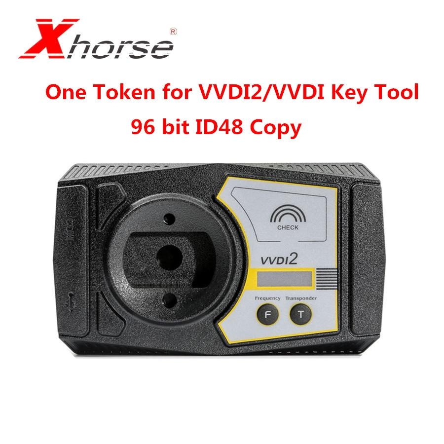 Xhorse One Token For Xhorse VVDI2 96 Bit ID48 Copy/VVDI Key Tool 96 Bit ID48 Copy Token