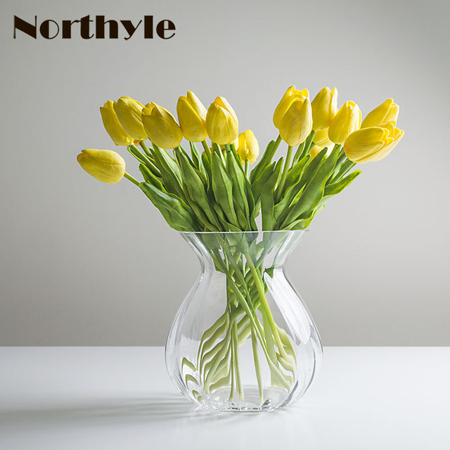 Simple glass flower vase clear vase flower bottle home decoration simple glass flower vase clear vase flower bottle home decoration glass vase for flower arrangements wedding mightylinksfo