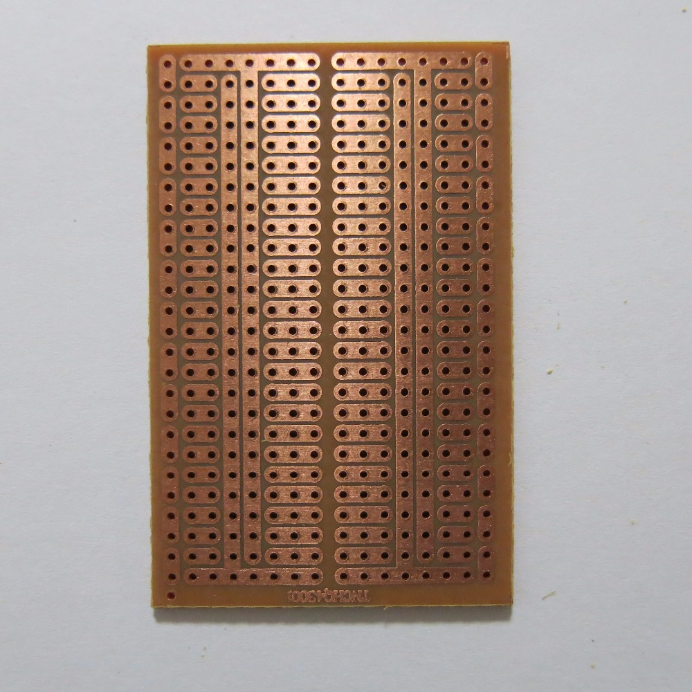 About 5pcs Copperfibergl Ass Universal Prototype Pcb Circuit Board 10pcs Lot Single Side 45x7cm Stripboard Veroboard Vero Bakelite Experiment Platine Matrix In Connectors From Lights
